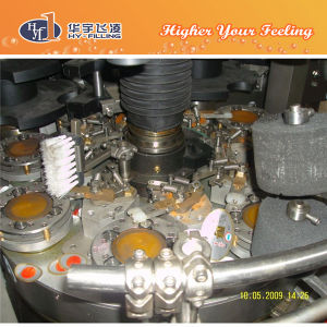 Hy-Filling Rotary Juice Self Adhesive Glue Labeler Machine pictures & photos