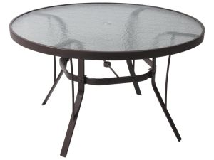 Patterned Glass Dining Table Top pictures & photos