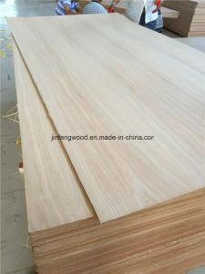 First Grade Natural Walnut/ Red Oak/ Teak/ Veneered MDF pictures & photos