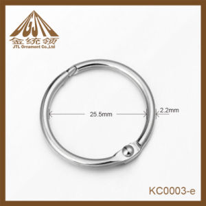 Fashion Nice quality 25mm Iron Binder Rings Nickel Color pictures & photos