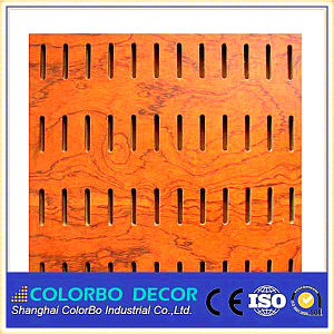 Veneer Wooden Acoustic Panel for Cinema pictures & photos