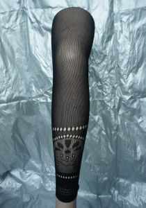 Sexy Legging Fishnet Pantyhose with Floral Pattern 1963 pictures & photos