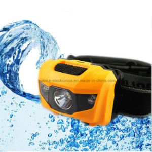Super Bright Ipx7 Waterproof LED Headlamp with Logo Printed (4000) pictures & photos