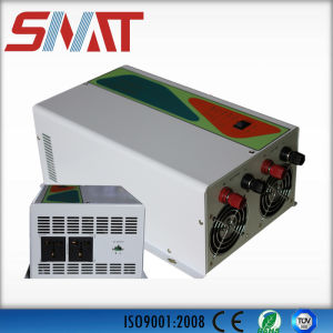 500W High Frequency Solar Inverter with Solar Controller Built in pictures & photos