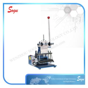 Xt0046 Easy Manual Hot Stamping Machine for Leather pictures & photos