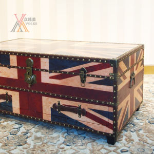 British Style PU Table Cabinet pictures & photos