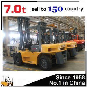 China New Diesel Forklift 7 Ton pictures & photos