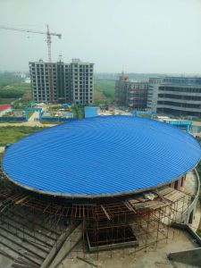 Professional Design Prefabricated Steel Structure Football Stadium pictures & photos