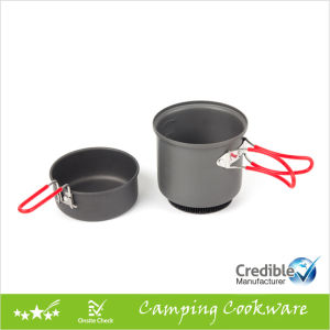 Camping Cooking Pot Camping Cookware Set pictures & photos