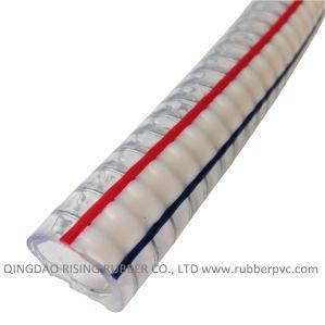 Transparent Non-Toxic Low Price PVC Steel Hose pictures & photos