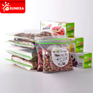 Custom Printed Food Packing Plastic Bag with Zipper pictures & photos