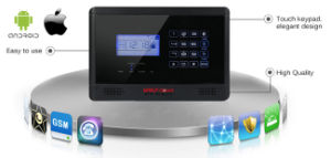 2015 New GSM Security Alarm System with Touch Keypad pictures & photos