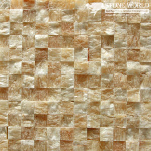 Yellow Onyx Mosaic Tiles for Flooring & Wall Decoration (mm-011) pictures & photos