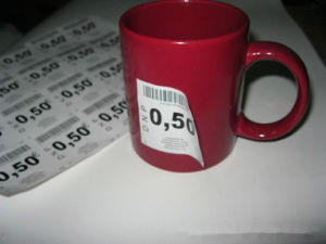 Custom Label for The Small Printed Self-Adhesive Price Tags pictures & photos