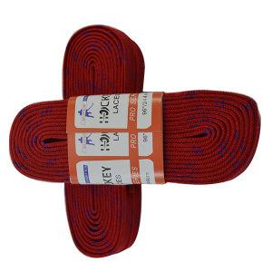 Durable Yarn Wax Finish Custom Hockey Shoelace pictures & photos