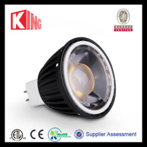 ETL Black 5W 12VAC Dimmable COB LED Spotlight pictures & photos