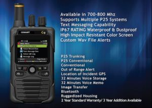 Comart G Series VHF&UHF Digital Pager, P25&Dmr Voice Fire Pager