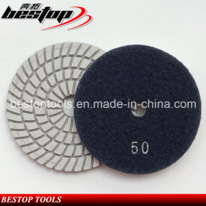 50# Sharp Type Diamond Grinding Pad for Man Made Stone pictures & photos