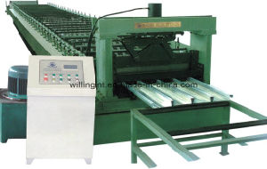Steel Floor Deck Roll Forming Machine with Ce pictures & photos