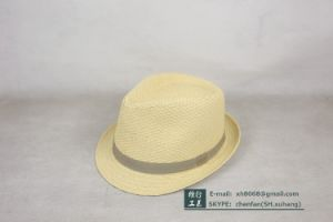 Trilby Paper Straw Hat (XH-PA2140) pictures & photos