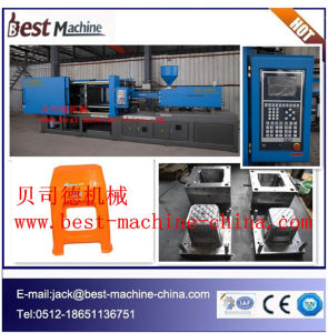 Bst-4500A Plastic Chair Injection Molding Making Machine pictures & photos