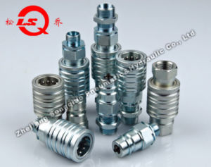 Lsq-S5c Push and Pull Type Hydraulic Quick Coupling (Steel) pictures & photos