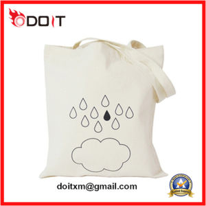 Custom Made Logo Printing Long Hanle Canvas Bag pictures & photos