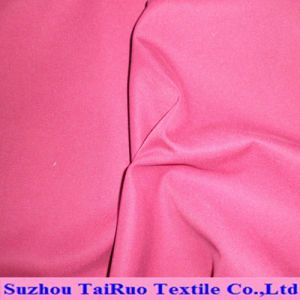 Brushed Polyester Peach Skin Fabric and Polyester Fabric of Stock pictures & photos