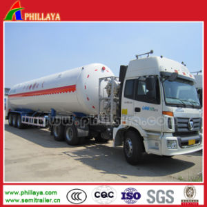 Gas Tanker Truck Semi Trailer / LNG Tank pictures & photos