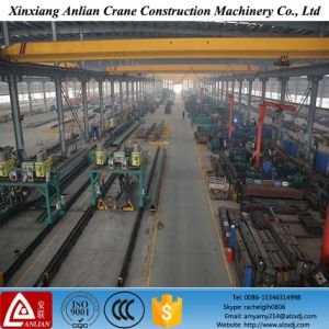 Light Duty Top Roof Traveling Electric 2 Ton Single Beam Girder Overhead Bridge Crane for Sale pictures & photos