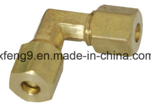 American Brass High Quality Comp Union Elbow Connector Fitting with Nut pictures & photos