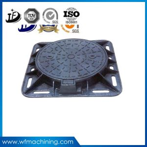 China Factory Supply Iron Casting Manhole Cover with OEM Service pictures & photos