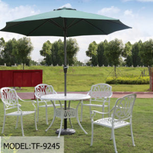 Round Windproof Outdoor Beech Promotional Parasol