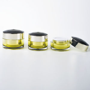 15g/30g/50g Round Acrylic Cosmetics Cream Jar Ef-J03 pictures & photos