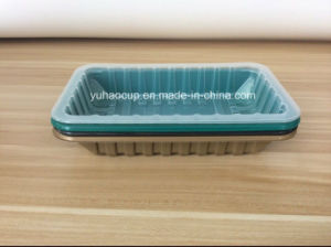 Take Away Disposable Plastic Food Container with Lid pictures & photos