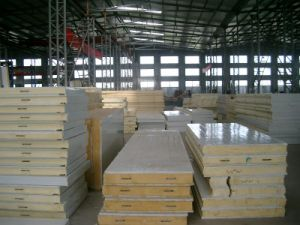 100mm PPGI Wall Panel PU Panel pictures & photos