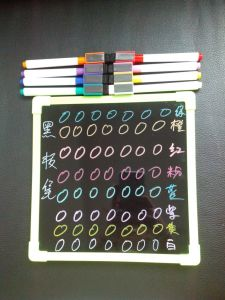 Hot Sale LED Board Marker Pen, Mini Magnetic Blackboard Marker with Brush pictures & photos