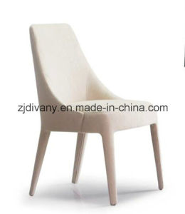 Diavny New Style Wood White Fabric Dining Chair (C-58B) pictures & photos