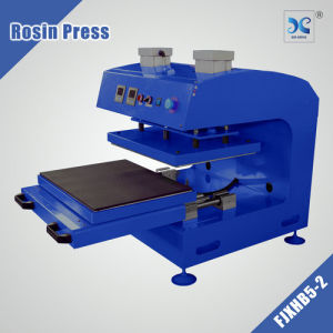 high quality FJXHB5-2 double heater Pneumatic type pneumatic Heat rosin press pictures & photos