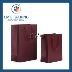 Luxury Red Paper Packaging Bag with Handle (DM-GPBB-140) pictures & photos