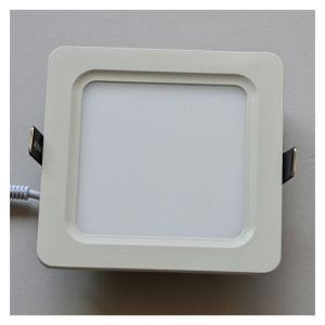 8W CE Rounded Square Anti-Glare Cool White LED Panel Light