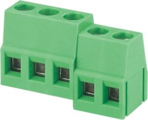 VDE UL Standard PCB Terminal Block Connector (WJ128-5.0) pictures & photos