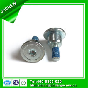 M4 Torx Flat Head Shoulder Screw with Nylon Patched pictures & photos