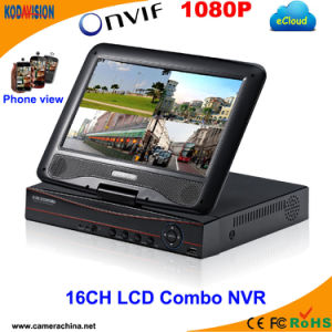 16 Channel LCD Combo NVR HDD SATA CCTV pictures & photos