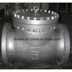 Cast Carbon Steel Flange Connection End Check Valve pictures & photos