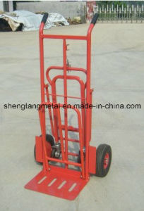 Iron Supermarket Hand Truck Trolly/Sack Barrow pictures & photos