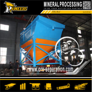 Inclined Tube Ore Desliming Process Gold Dewatering Mining Gravity Thickener pictures & photos