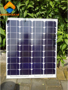 50W High Quality Powerful PV Panel Mono Solar Charger pictures & photos