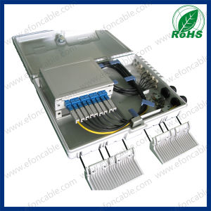 FTTH Caja De Distribucion Termination Box 16cores/Pigtail/PLC Splitter Sc APC pictures & photos