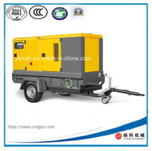 Moving Trailer Cummins 80kw/100kVA Silent Diesel Generator pictures & photos